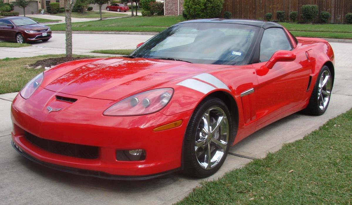 2011 Chevrolet Corvette Grand Sport Coupe 2-Door 2011 Chevrolet Corvette Grand Sport 2 Dr Coupe Torch Red Z16 C-6