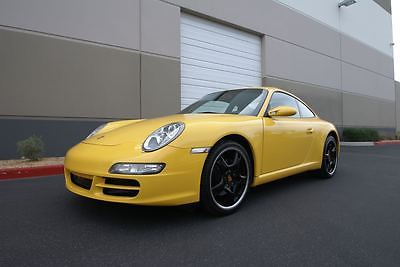 2005 Porsche 911 Carrera 2005 PORSCHE 911 Carrera - Speed Yellow 997 6 speed manual, only 51k