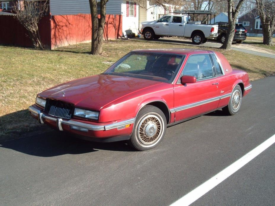 1990 Buick Riviera Quality 1990 BUICK RIVIERA RUNS GOOD NO LEAKS GOOD SHEET METALTagged bad gut!