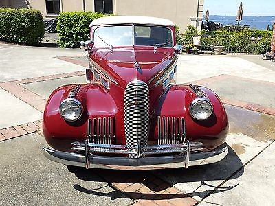 1940 Cadillac LaSalle 5029 4 door convertible Stock 1940 LaSalle BY Cadillac, model 5029, 4 door convertible