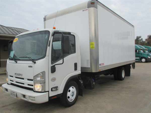 2014 Isuzu Npr Hd  Box Truck - Straight Truck