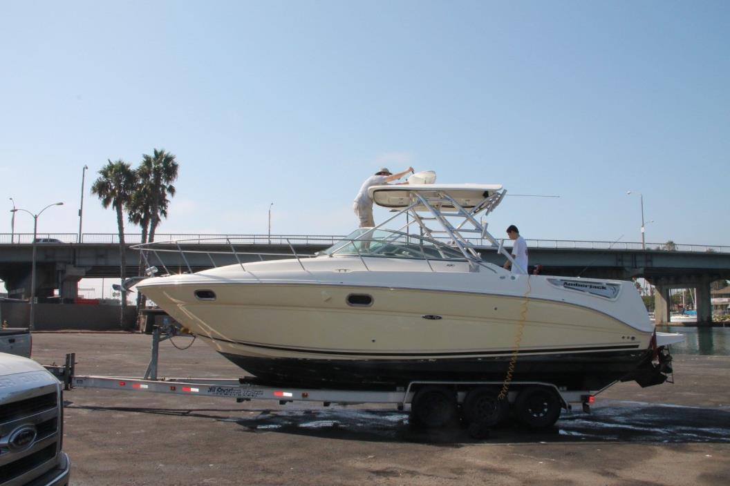 2008 Sea Ray Amberjack 290 and tripple axle trailer  Health Force Sale