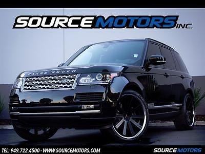 2014 Land Rover Range Rover Supercharged Sport Utility 4-Door 2014 Land Rover Range Rover Supercharged V8, 24