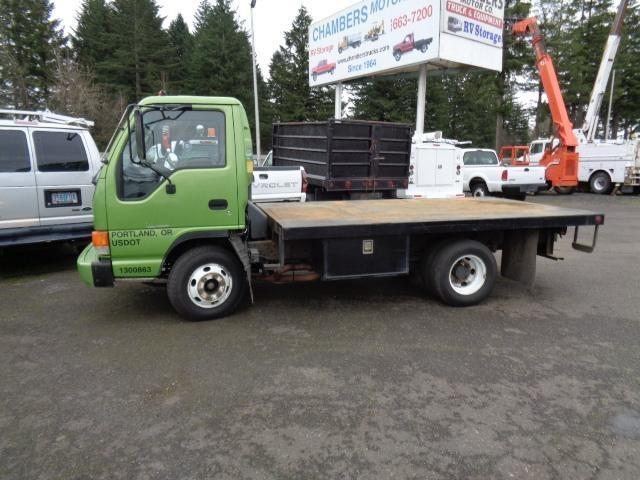 1999 Isuzu Npr  Flatbed Truck