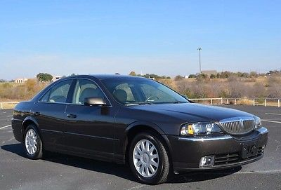 2005 Lincoln LS 2005 Lincoln LS One Owner 50,000 Original Miles One Of A Kind Nice Car!