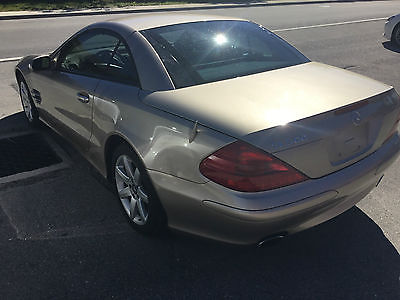 2003 Mercedes-Benz SL-Class CONVERTIBLE 2003 Mercedes Benz SL500 one owner car low mileage in great condition
