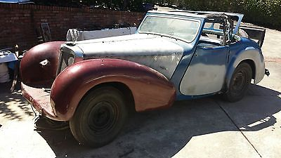 1947 Triumph 1800 roadster  1947 Triumph 1800 roadster, Project car