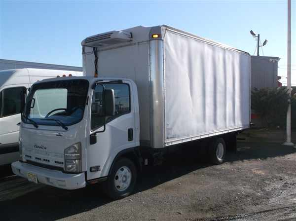 2010 Isuzu Npr Hd Refrigerated Truck