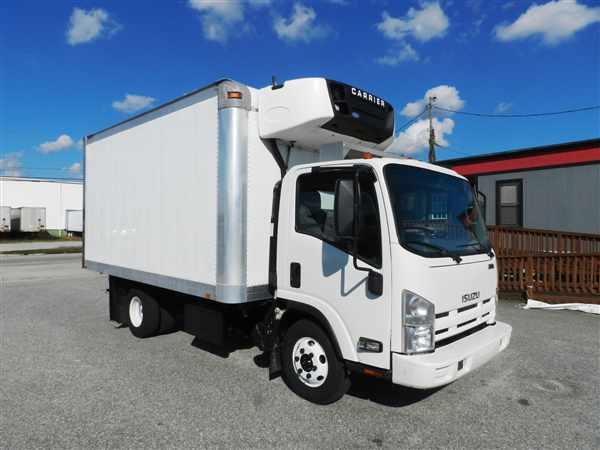 2012 Isuzu Npr Hd Refrigerated Truck