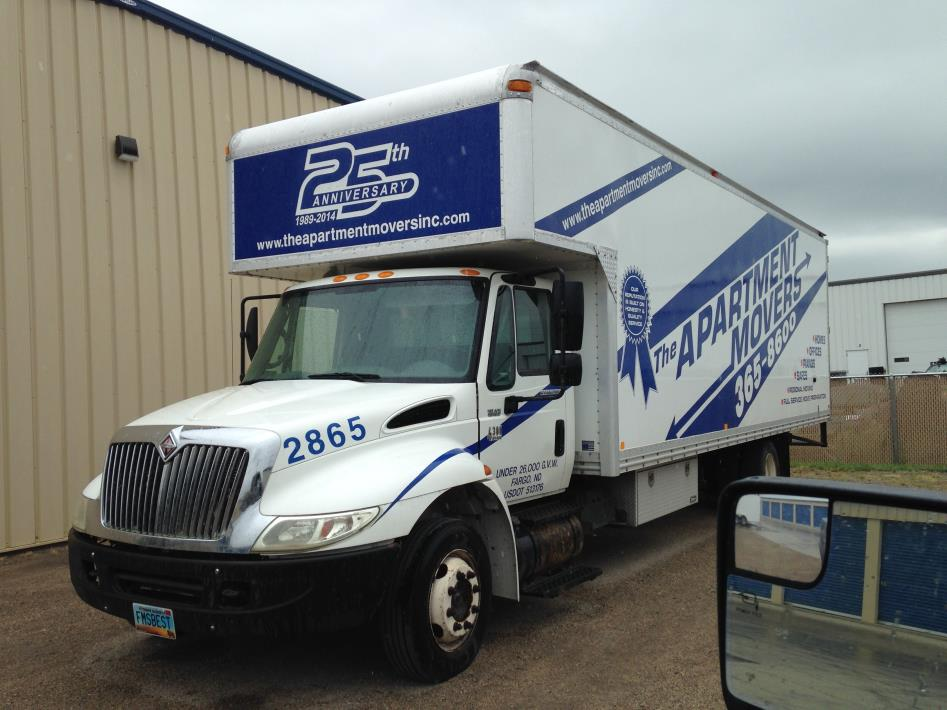 2005 International 4300lp  Moving Van