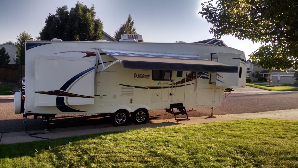 2011 Forest River WILDCAT 32QBT