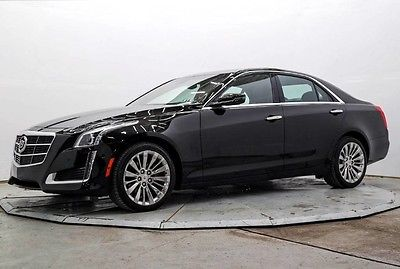 2014 Cadillac CTS Performance Sedan 4-Door AWD 3.6L SDN Nav R Camera Htd & AC Seats Pwr Sunroof Bose 18in Alloys Save