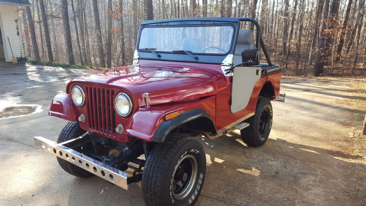 1959 Willys Jeep CJ5  1959 Willys Jeep CJ5