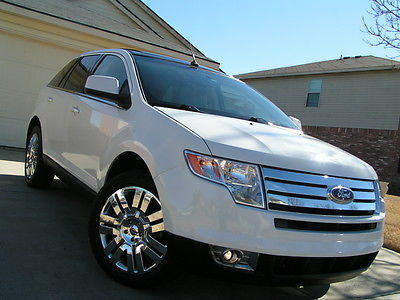 2009 Ford Edge Limited Sport Utility 4-Door 2009 FORD EDGE LIMITED LEATHER HEATED SEATS PANORAMIC SUNROOF 20 RIMS RUNS GREAT