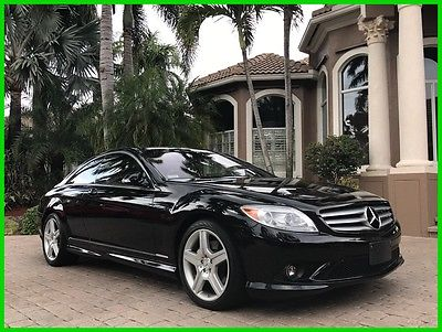 2007 Mercedes-Benz CL-Class CL550 2007 Mercedes Benz CL550 63K MILES! NAVIGATION! CLEAN CARFAX!