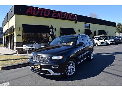 2015 Jeep Grand Cherokee Summit Sport Utility 4-Door 2015 Jeep Grand Cherokee Summit Automatic BLACK $54,080 MSRP LEASE FOR $409/MO!