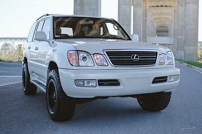 2001 Lexus LX LX470 AWD SUPER CLEAN LOW MILES NO ACCIDENT CARFAX LX470 AWD SUPER CLEAN LOW MILES NO ACCIDENT CARFAX NO RUST