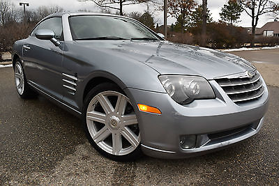 2004 Chrysler Crossfire LIMITED-EDITION  Coupe 2-Door 2004 Chrysler Crossfire Sport Coupe 2-Door 3.2L/Leather/19