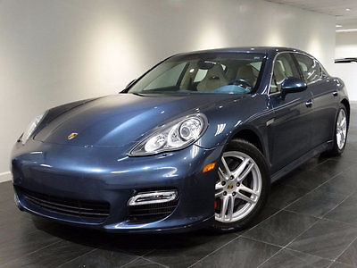 2010 Porsche Panamera 4dr Hatchback Turbo 2010 PANAMERA TURBO AWD NAV REAR-CAMERA HEATED-STS SPORT-CHRONO 500HP MSRP$149k