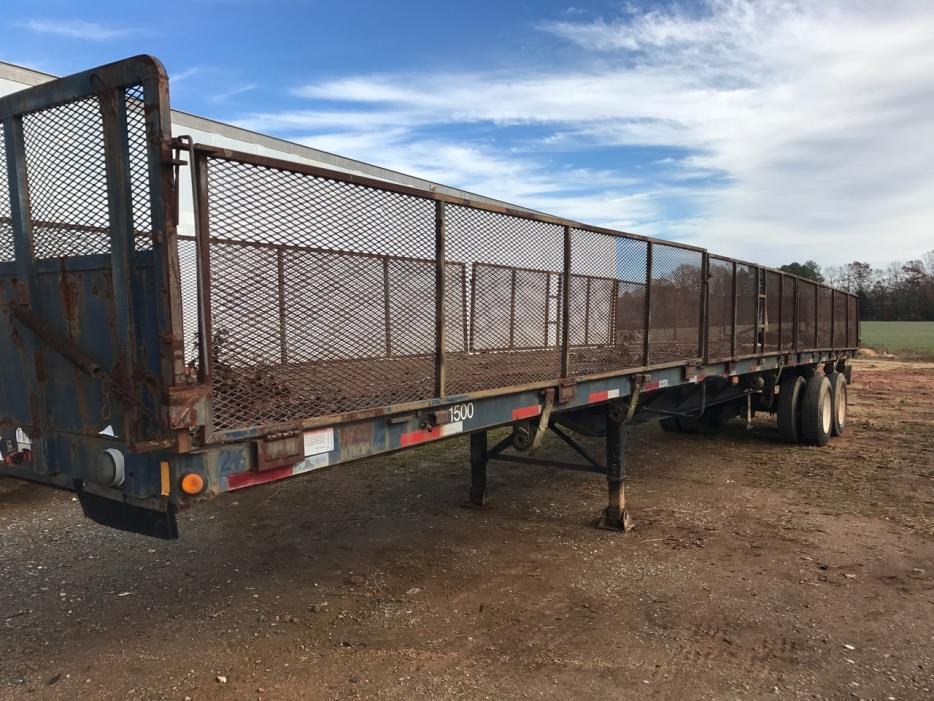 1994 Fontaine Trailer  Flatbed Trailer
