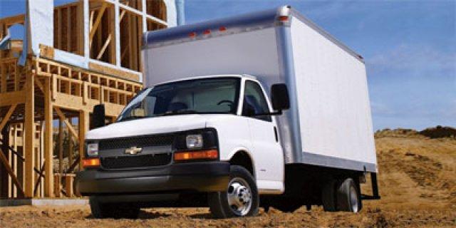 2012 Chevrolet Express Commercial Cutaway Cutaway-Cube Van