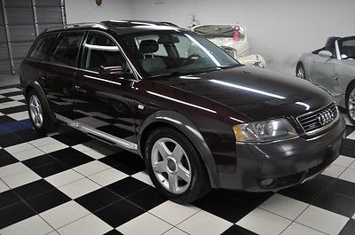 2004 Audi Allroad QUATTRO WAGON - 5SP MANUAL - AMAZING CONDITION 2004 Audi One Owner! Carfax Certified!