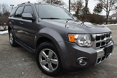 2009 Ford Escape 4WD LIMITED-EDITION  Sport Utility 4-Door 2009 Ford Escape Limited Sport Utility 3.0L/4WD/Leather/Sunroof/TOW/17