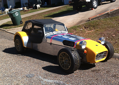 1980 Lotus Super Seven 5 speed manual 1980 Caterham Super 7 1600 Kent Weber Dutton