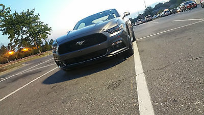 2015 Ford Mustang GT Coupe 2-Door 2015 Ford Mustang GT 5.0 Magnetic Metallic