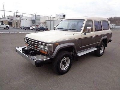 1980 Toyota Land Cruiser LAND CRUISER TURBO DIESEL 1987 TOYOTA LAND CRUISER 60 SUV 4X4 TURBO DIESEL HJ61 LOW MILES !!!