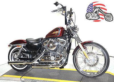2013 Harley-Davidson Sportster 2013 Hard Candy Red Harley Davidson Sportster Seventy Two 72 XL1200V Many Extras