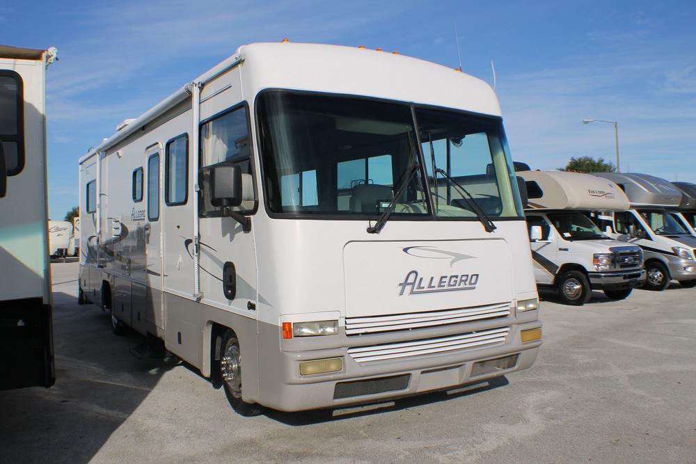 2001 Tiffin Motorhomes ALLEGRO 31', 0