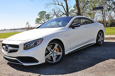 2016 Mercedes-Benz S-Class S63,AMG COUPE S,$214K!,MATTE PEARL,s550,c63,e63,m6 63 Sport Coupe,$214,000 MSRP,7K MI,CARBON BRAKES,INT,EXT, CARBON,FRIDGE,DESIGNO