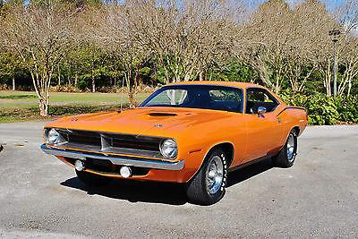 1970 Plymouth Barracuda Cuda` 340 4-Barrel 4-Speed 76,556 Original Miles! 1970 Plymouth Cuda` 340 4-Barrel 4-Speed 76,556 Actual Miles! 1 of 2,372