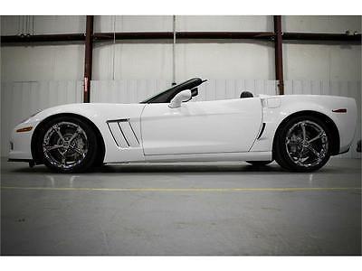 2012 Chevrolet Corvette Grand Sport Convertible 2-Door 2012 CHEVROLET CORVETTE GRAND SPORT 4LT CONVERTIBLE ONLY 16K MILES VERY RARE WOW