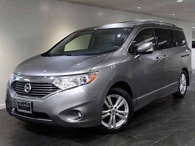 2013 Nissan Quest 4dr SL 2013 NISSAN QUEST SL VAN REAR-CAMERA 3RD-ROW DVD HEATED-SEATS WARRANTY 1-OWNER
