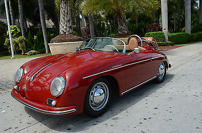 1957 Porsche 356  1957 Porsche 356 Convertible & Coupe Tops SHOW CAR