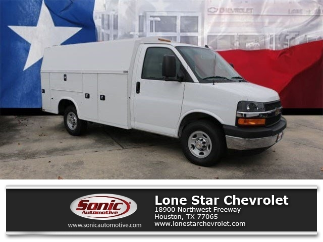 2017 Chevrolet Express Cutaway Work Van Plumber Service Truck