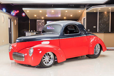 1940 Willys Coupe  Custom Build! LS1 5.7L, 4L60E Auto, Art Morrison Chassis, A/C, PS, 4-Wheel Disc