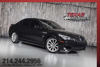 2008 BMW M5 BMW M5 2008 BMW M5 5-Series, Leather, Black on Black! 5.0L V10!