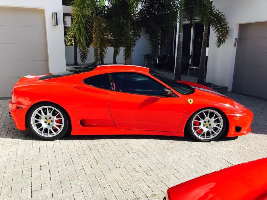 2004 Ferrari 360 Challenge Stradale 2004 Ferrari 360 Challenge Stradale - Rosso Scuderia - Factory Stripe - Rebuilt