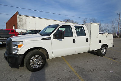 2014 Ford F-250 4X2 CREW 8FT WELDER UTILITY BED 6.2 AUTO READY TO WORK UTILITY TRUCK!$SAVE THOUSAND$$WEL MAINTAINED!!READY TO DRIVE HOME!