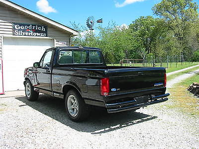 1993 Ford F-150 Lightning Standard Cab Pickup 2-Door 1993 Ford F-150 Lightning short bed *mint original* black* 31K actual miles*