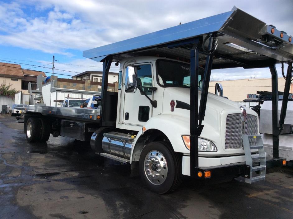 2017 Kenworth T370  Rollback Tow Truck