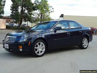 2004 Cadillac CTS Luxury Sedan 04 Cadillac CTS V6 Sedan Chrome Package 1 Owner Clean Low Miles
