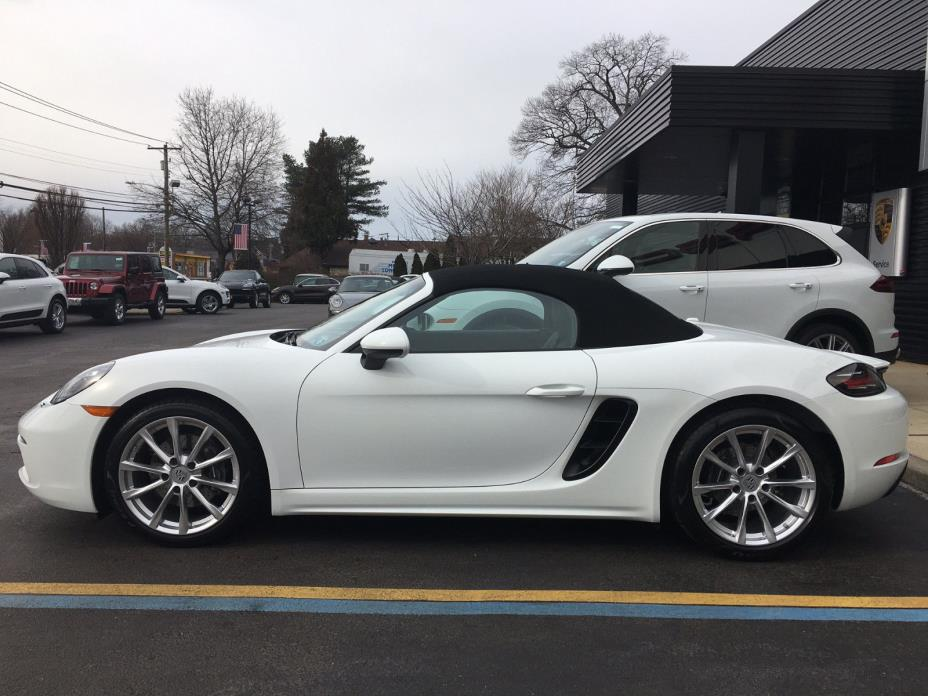 2017 Porsche Boxster Porsche 718 Boxster - Mint Condition with just 598 Miles - MSRP $66,740 + Tax