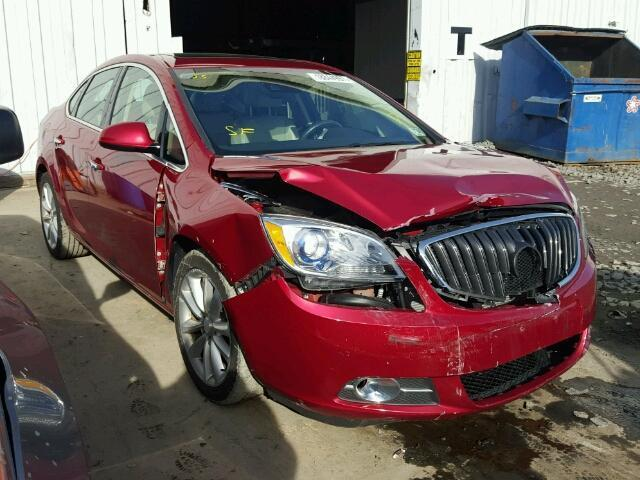 2014 Buick Verano Verano 2014 BUICK VERANO + FULLY LOADED + LEATHER + SALVAGE REPAIRABLE + RUNS & DRIVES