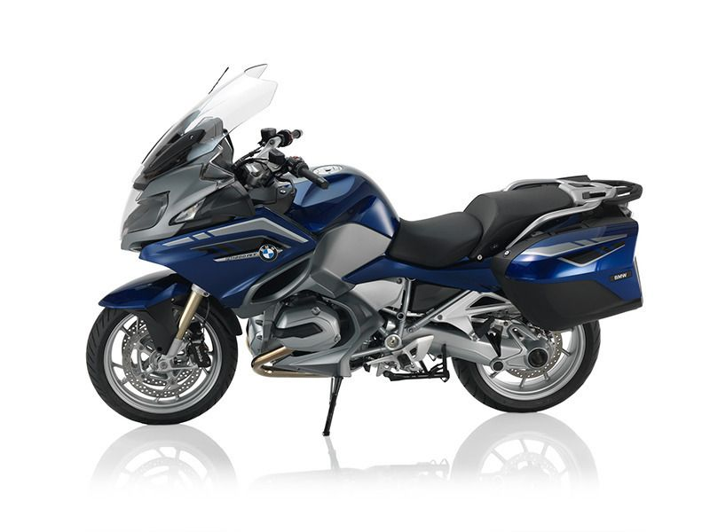 2016 BMW R 1200 RT San Marino Blue Metallic / Gra
