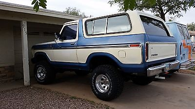1978 Ford Bronco  Awesome