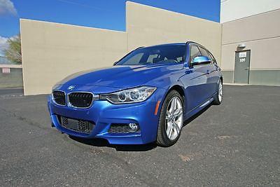 2014 BMW 3-Series 328d xDrive Wagon M Sport 2014 BMW 328d xDrive Wagon with M Sport Package, Estoril Blue